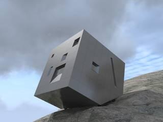 CONCORSO DI IDEE PER LA RICOSTRUZIONE DEL BIVACCO F.LLI FANTON SULLE MARMAROLE (BL):  in stile  di GINO FASAN ARCHITETTO