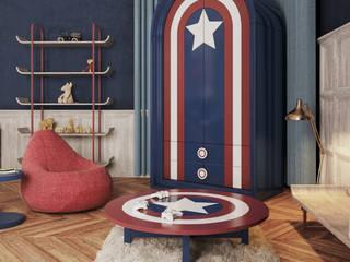 Tosba Jr. Süper Kahraman Serisi Tosba Jr Çocuk Mobilyaları Klasik