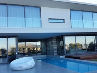 CAPE TOWN EUROPEAN STANDARD DOUBLE GLAZED ALUMINIUM PROJECT:  Sliding doors by ALU-EURO ALUMINIUM PRODUCTS,
