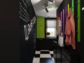 Eclectische gangen, hallen & trappenhuizen van Irina Yakushina Eclectisch