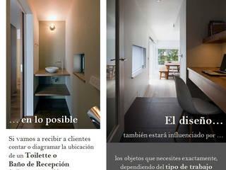 Estudios y despachos de estilo  de Fabiana Ordoqui  Arquitectura y Diseño.   Rosario | Funes |Roldán, Moderno