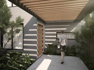 Casa J799: Casas de estilo  por Studio ADM - Arquitectura y Diseño Mexicano