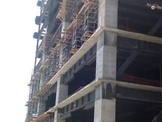 Hotel de AXKAN ESTRUCTURASyCONSTRUCCION Minimalista