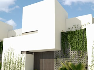 N A H ' de ARKADIA: Estudio de Arquitectura Minimalista