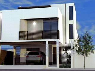 Remodelación fachada minimalista Casas minimalistas de Beltor Constructora Minimalista