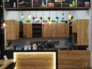Cafe : modern  by Madhavi Wandre,Modern
