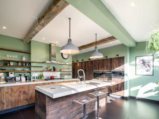 Built-in kitchens by Brandler London, Eclectic