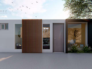 Casas de estilo  por GóMEZ arquitectos