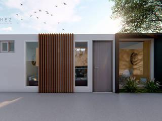 Houses by GóMEZ arquitectos, Modern
