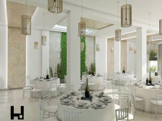 Salle multimédia minimaliste par HANS DIETER ARQUITECTO Minimaliste