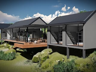 Juan Pretorius Architecture PTY LTD Casas escandinavas