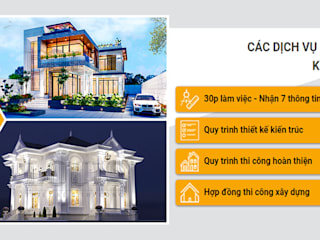 by Công Ty Thiết Kế Xây Dựng LOUIS