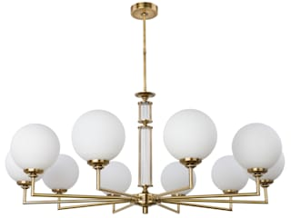Artu Glass Collection Designer Lamp Luxury Chandeliers Glass Lamp Shades Brass Lighting di Luxury Chandelier Classico
