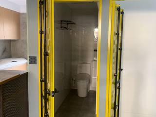 石膏磚施工前後之設計案 根據 寶瓏室內裝修有限公司