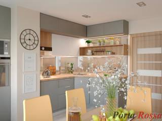 Cocinas de estilo moderno de Дизайн студія 'Porta Rossa' Moderno