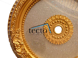 Hiasan Lampu Plafon 60 Cm IR-60-S02 Lamplate - Dome Plafon Oleh Tecto Plafon Klasik