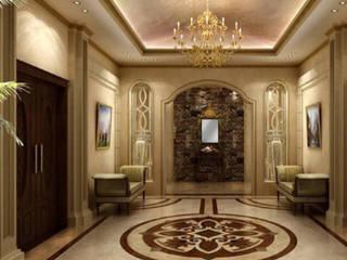 Living Room Modern corridor, hallway & stairs by Plan Homes Modern