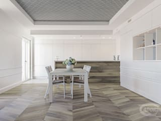 Comedores de estilo minimalista de Cadorin Group Srl - Italian craftsmanship Wood flooring and Coverings Minimalista