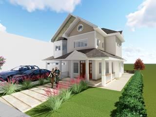 Maisons de style  par Tuti Arquitetura e Inovação,