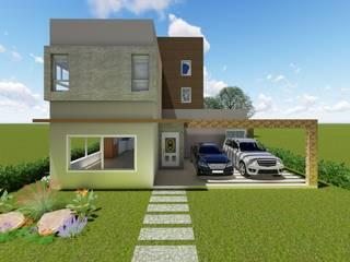 Minimalist houses by Tuti Arquitetura e Inovação Minimalist