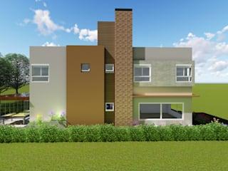 Casas minimalistas por Tuti Arquitetura e Inovação Minimalista