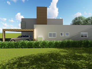 Casas de estilo  por Tuti Arquitetura e Inovação,