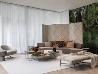Ambientes modernos e cheios de elementos naturais por Artefacto Curitiba Rústico