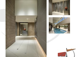 EXCLUSIVE RESIDENCE BY ODW:  Corridor & hallway by organicdesign,