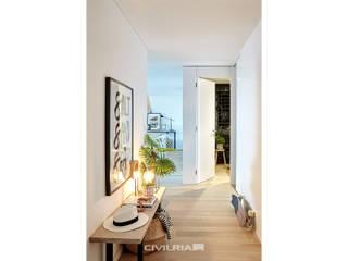DOCA Corredores, halls e escadas modernos por CIVILRIA Moderno