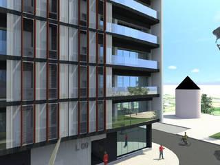 Edificação: 2 prédios para habitação e estabelecimento comercial por Screenproject Consulting Engineers, Lda