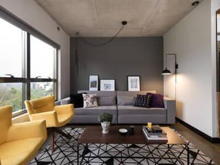 Modern living room by Arqsoft Arquitetura e Engenharia LTDA Modern