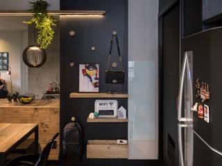 Modern dining room by Arqsoft Arquitetura e Engenharia LTDA Modern