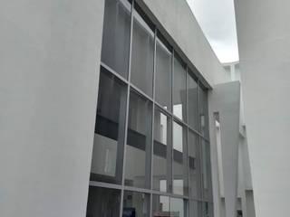 VENTANERIA ESCOLAR vertikal Puertas y ventanas clásicas Aluminio/Cinc Gris
