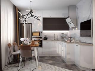 Keuken door Студия интерьерного дизайна happy.design