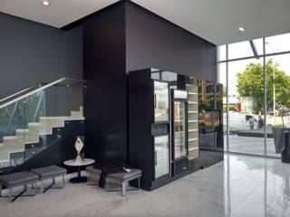 HOTEL AC GUADALAJARA Estudios y despachos modernos de FM ARQUITECTOS Moderno