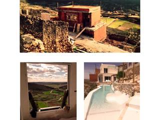 """Apartamento turístico en Zafra de Záncara, Cuenca. """"Planeta chicote"""":  de estilo  de Arte y Vida Arquitectura, Minimalista"""