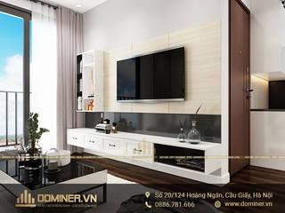 Thiết kế nội thất chung cư An Bình City phong cách hiện đại – chị Trang bởi Thiết kế - Nội thất - Dominer
