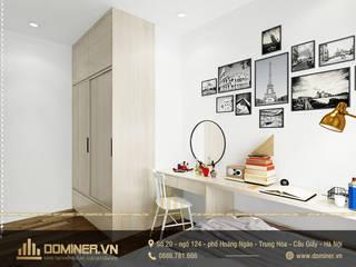 Thiết kế nội thất chung cư Gold Season phong cách hiện đại – anh Thủy bởi Thiết kế - Nội thất - Dominer