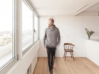 casa GF | Valencia, Spain estudio calma Casas de estilo minimalista Blanco