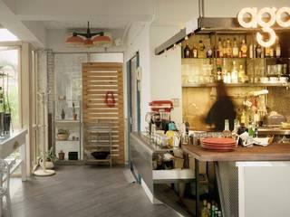 直方設計有限公司 Industrial style kitchen