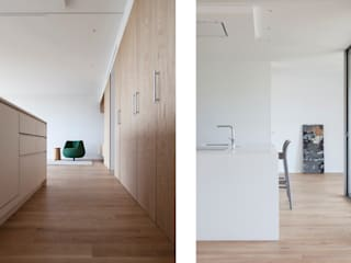 casa Botánico | Valencia, Spain estudio calma Cocinas de estilo minimalista