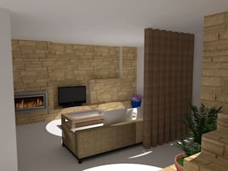 SG HOUSE: Salas de estar  por RPJD.Arquitectos,