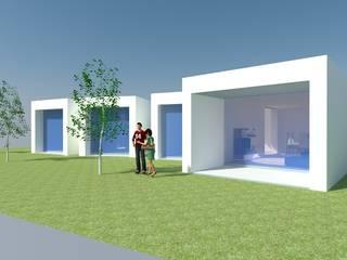 Mountain house - studi: Casas  por RPJD.Arquitectos,