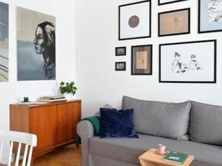 Fotografia wnętrz mieszkania na Odolanach: styl , w kategorii  zaprojektowany przez Archilens Łukasz Nowosadzki