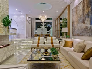 Livings de estilo moderno de Designer de Interiores e Paisagista Iara Kílaris Moderno