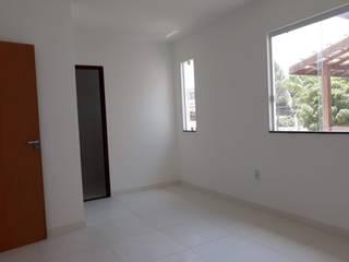 Projeto de apartamentos com 2 pavimentos, em condomínio fechado, com área de lazer, com quiosque com churrasqueira. por ARQ-PB Arquitetura e Construção