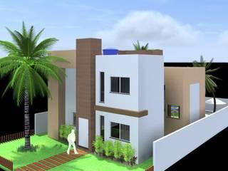 Lindo Projeto de uma residência, moderna e dinâmica por ARQ-PB Arquitetura e Construção
