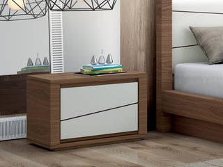 Decordesign Interiores BedroomBedside tables Chipboard Beige