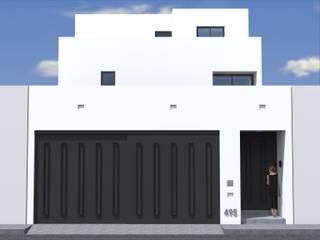 Anteproyecto - Casa OR: Casas unifamiliares de estilo  por Rios Serna Arquitectos