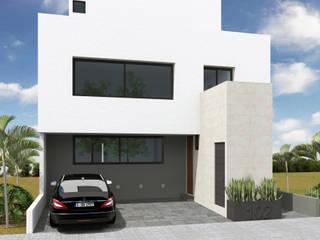 Anteproyecto - Casa SAF Casas minimalistas de Rios Serna Arquitectos Minimalista